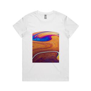 full colour printed womens tshirt